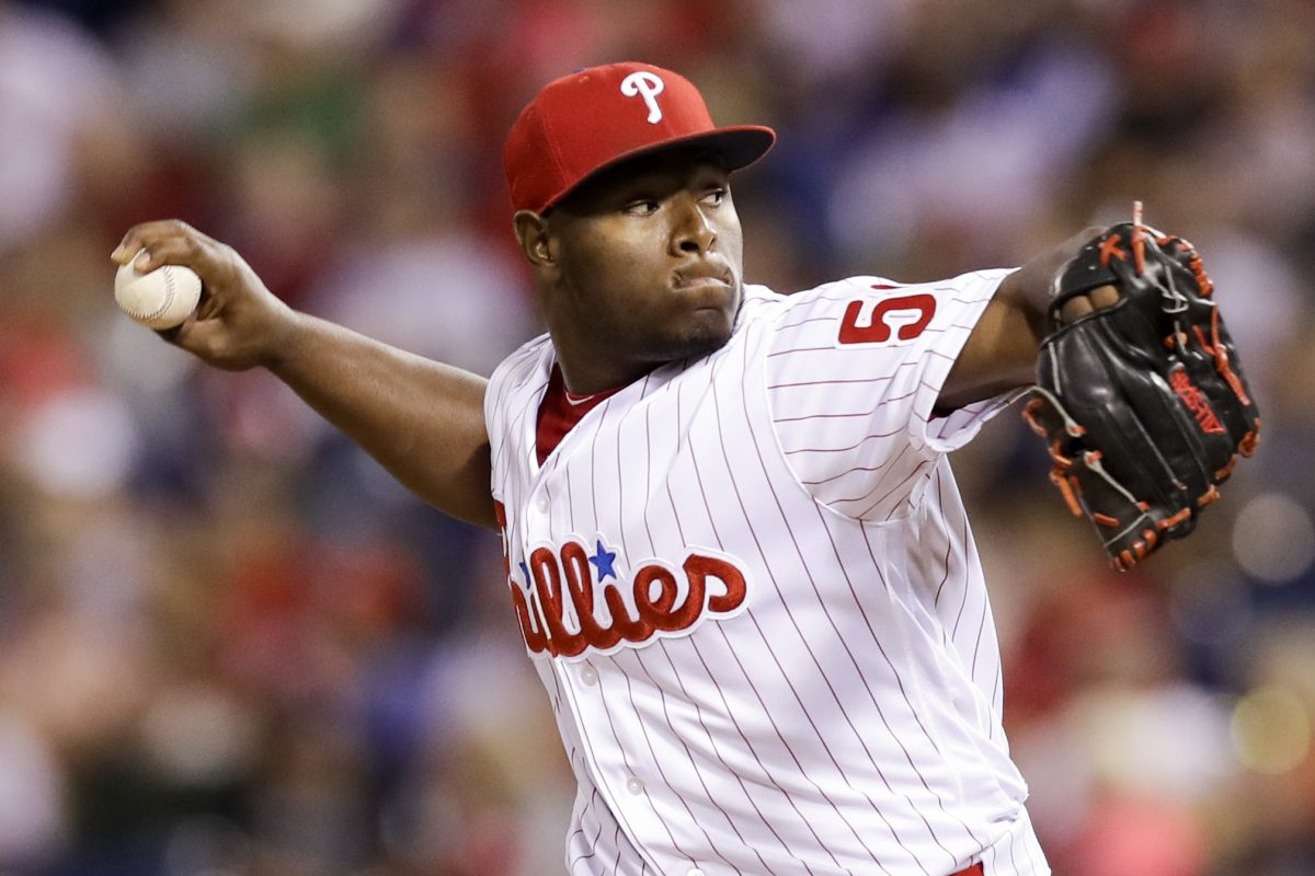 Hector Neris saved 26 games for the Phillies last season. Will he be the closer again?