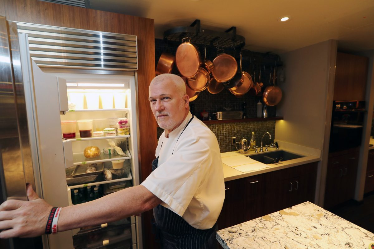 """Executive Chef Martin Hamann of the Union League of Philadelphia said he never forgot he was a working-class guy at The Four Seasons """"cooking for the elite."""""""