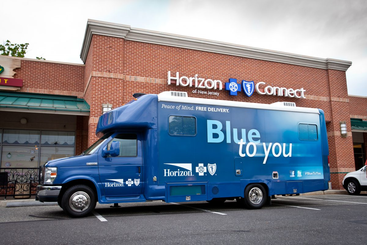 Horizon Blue Cross Blue Shield of New Jersey has been using its mobile van to reach Obamacare consumers. The signup deadline is Friday.