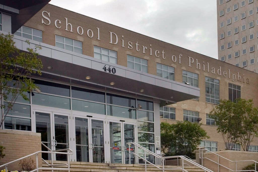 The Philadelphia School District headquarters at 440 N. Broad St.