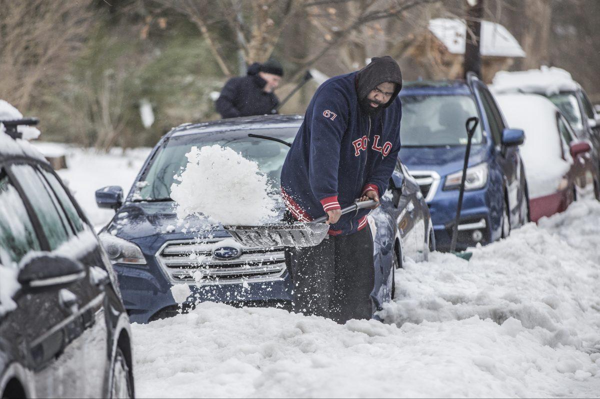 Drexel University snow melt
