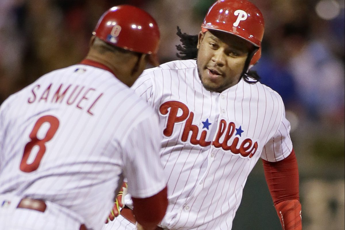 Phillies third baseman Maikel Franco  has batted just .242 with a .712 OPS over the last two seasons.