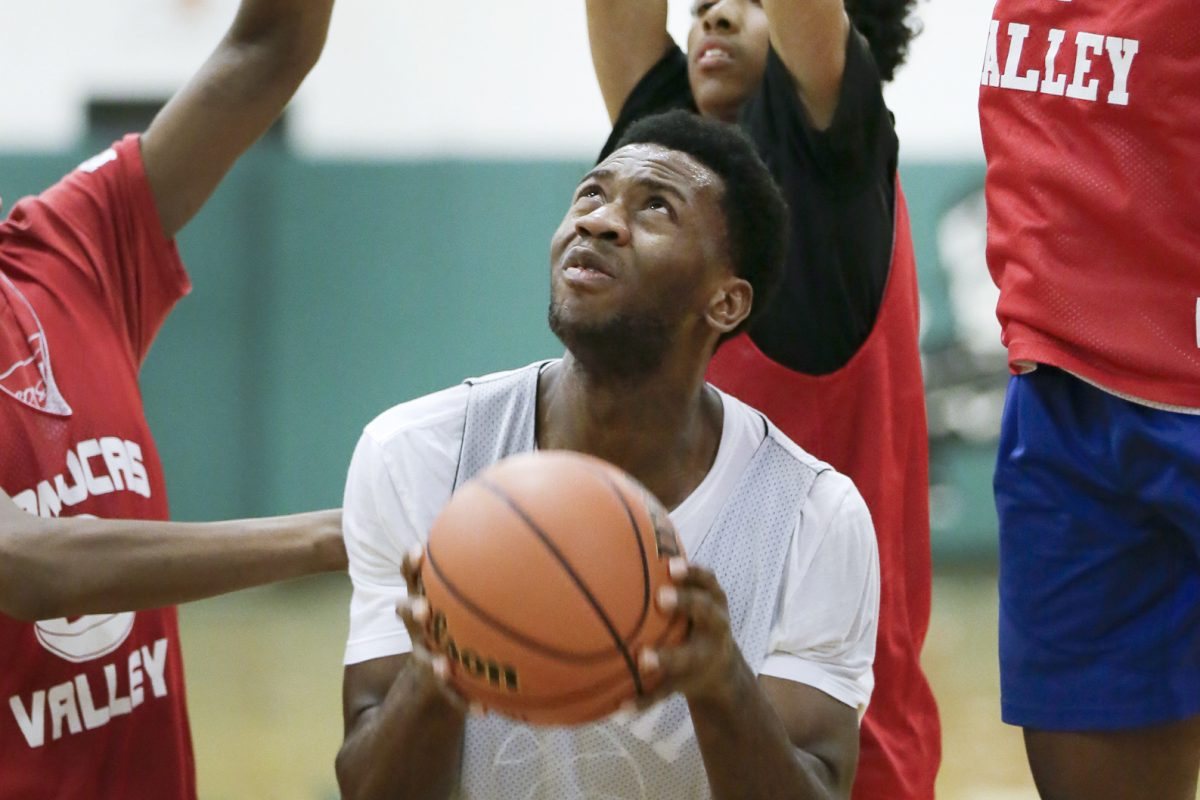 Junior Uche Okafor projects as the starting center for sixth-ranked Camden Catholic.