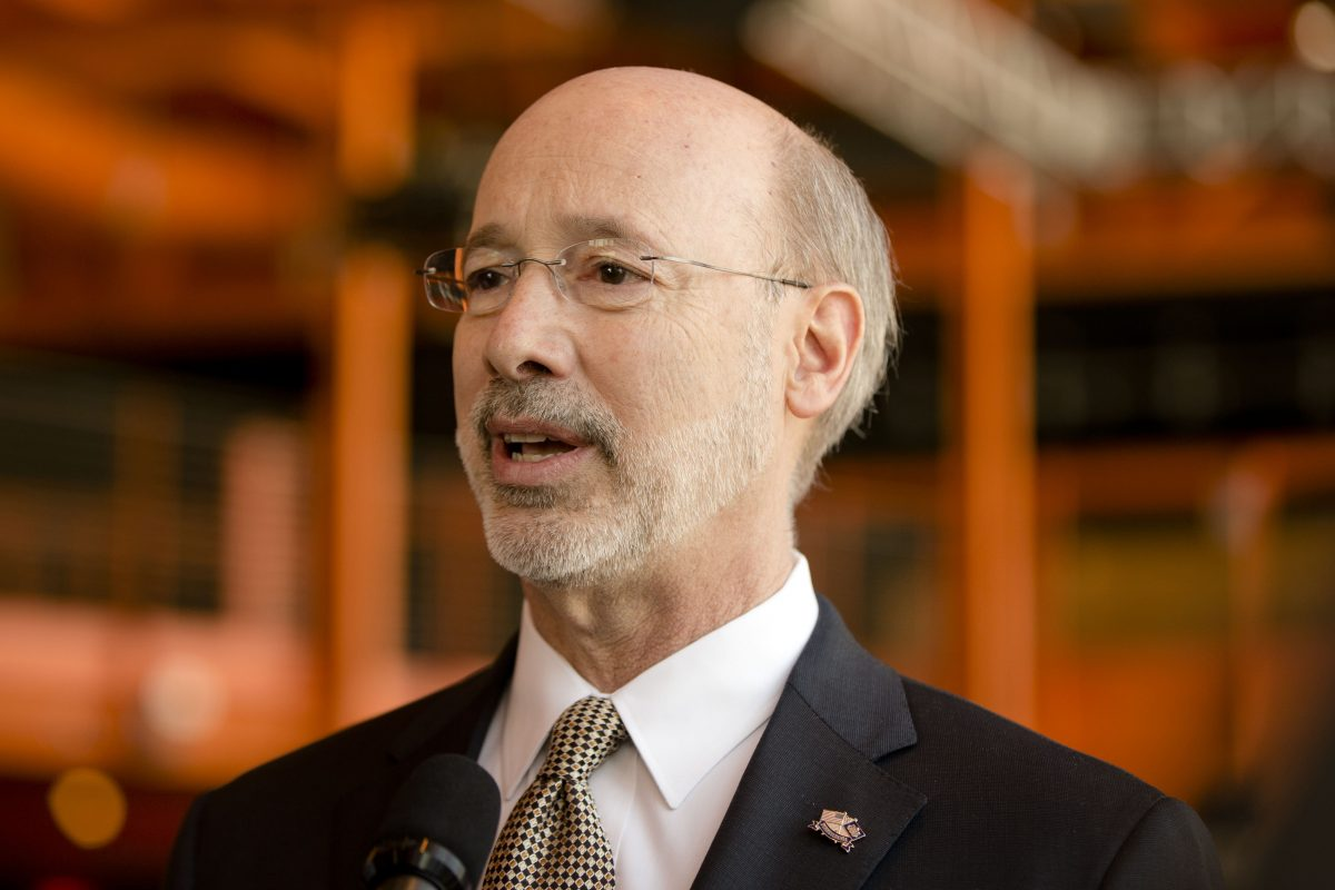 """""""I will veto any bill that puts a check on women's rights in Pennsylvania.,"""" says Gov. Wolf."""
