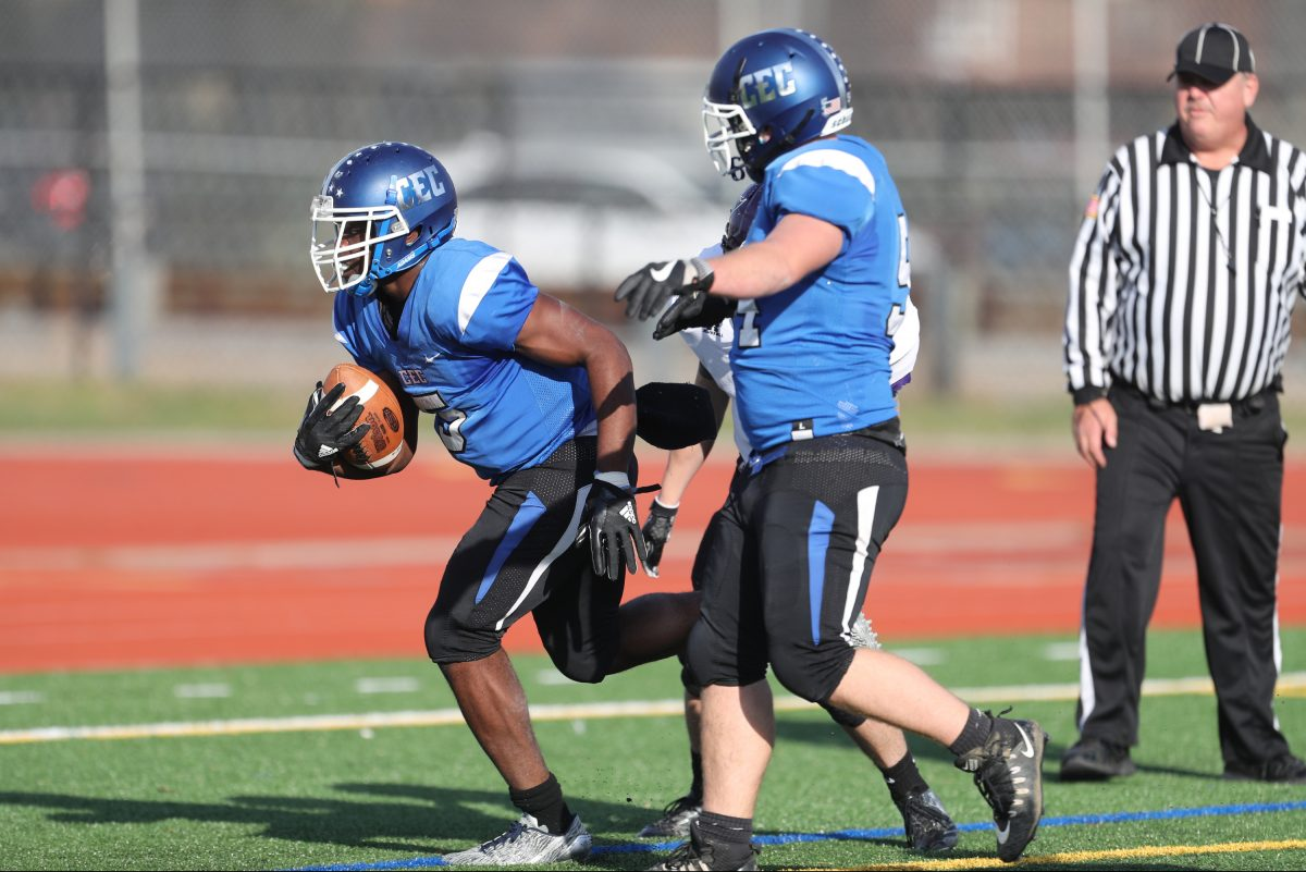 Conwell-Egan added two-way lineman Tom Burns, a transfer from Notre Dame (N.J.), to its lineup for the last two games of its drive to the PIAA Class 3A state semifinals.