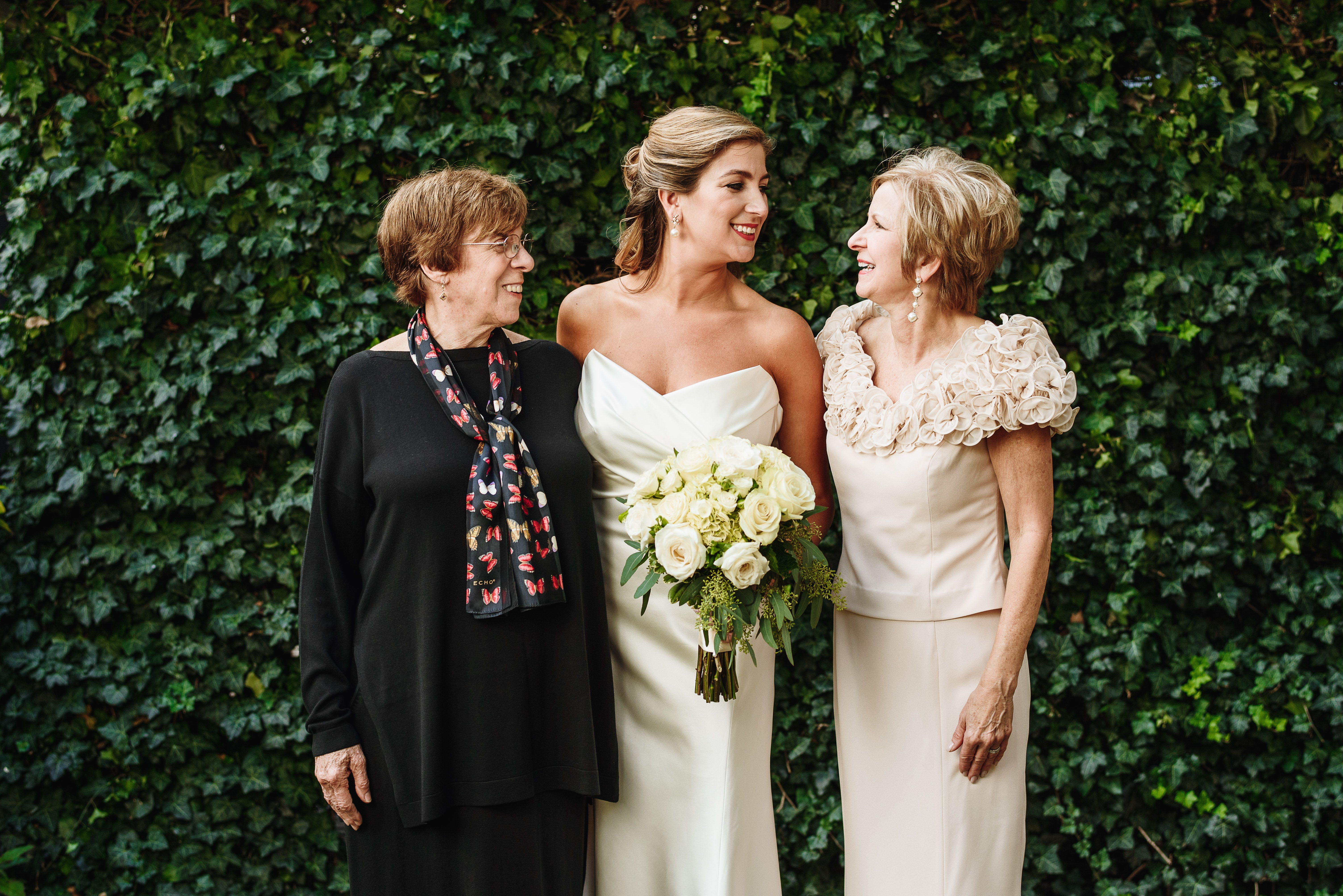 Meredith Bush Brill with (I believe this is her mom and Aaron´s mom. I am emailing the couple to confirm and will update) #submittedImage