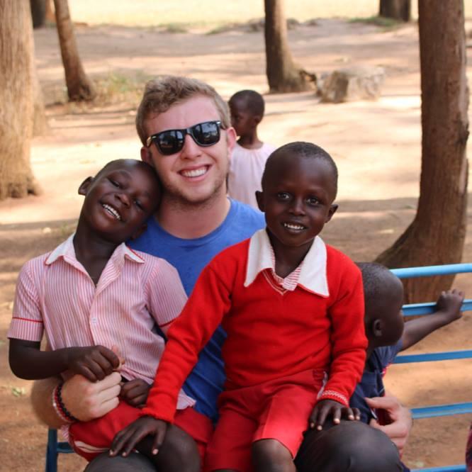 Eagles backup QB Nate Sudfeld doing charity work in Uganda.