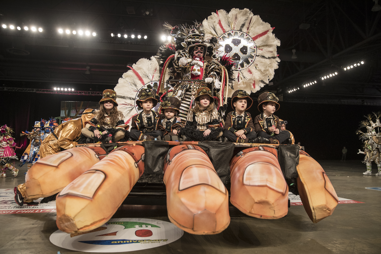 Mummers Parade Fancy Brigade