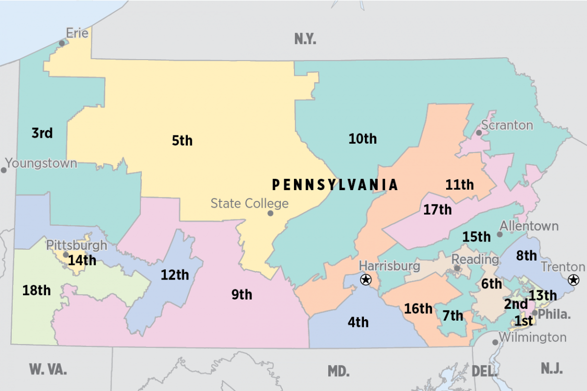 in gerrymandering case judge recommends pa supreme court uphold congressional map philly