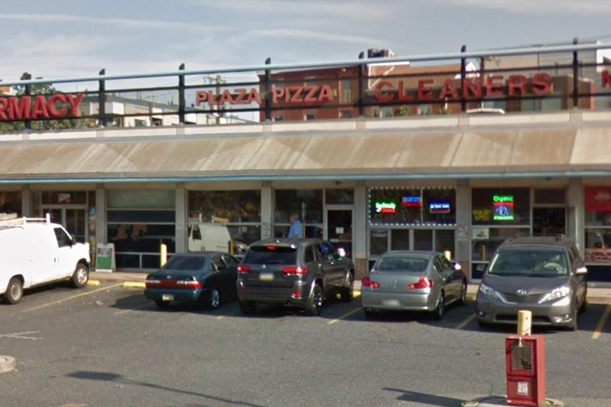 The location for Plaza Pizza, on 337 Spring Garden Street.