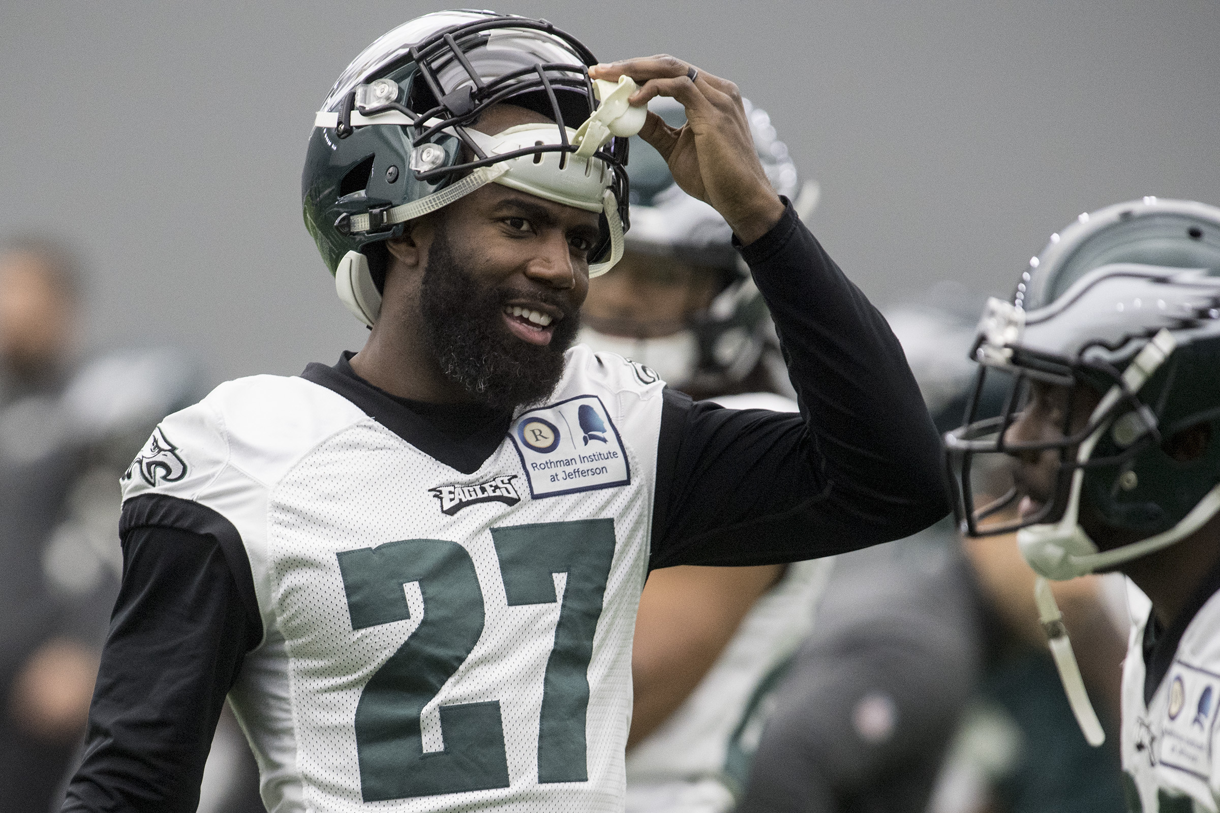 Eagles safety Malcolm Jenkins won a Super Bowl with the Saints.