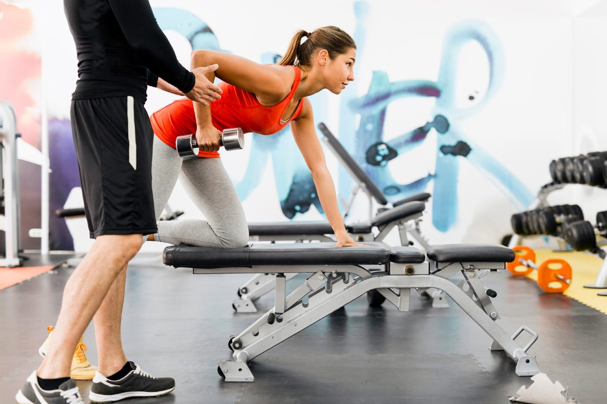 """There is a reason why it's called """"personal"""" training. Before picking your trainer, you want to make sure you are comfortable spending an hour-long session together."""