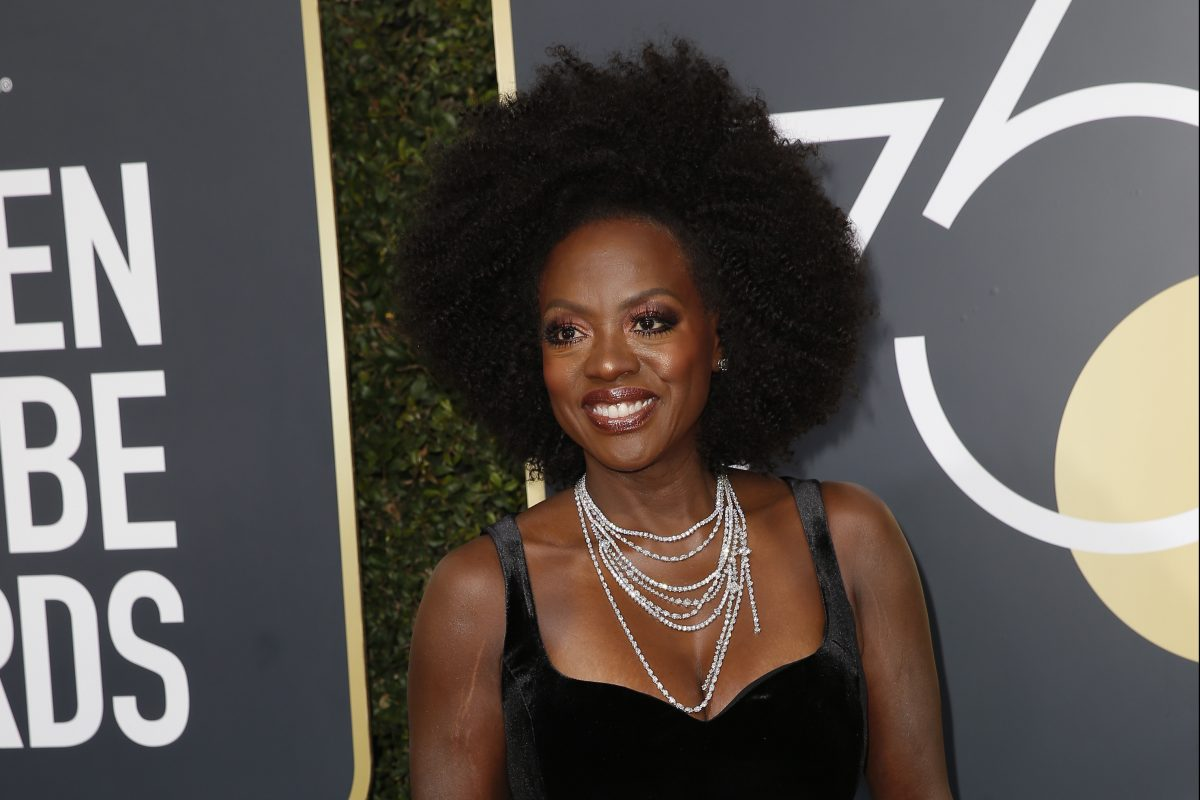 Viola Davis arrives at the 75th Annual Golden Globes at the Beverly Hilton Hotel in Beverly Hills, Calif., on Sunday, Jan. 7, 2018. (Jay L. Clendenin/Los Angeles Times/TNS)
