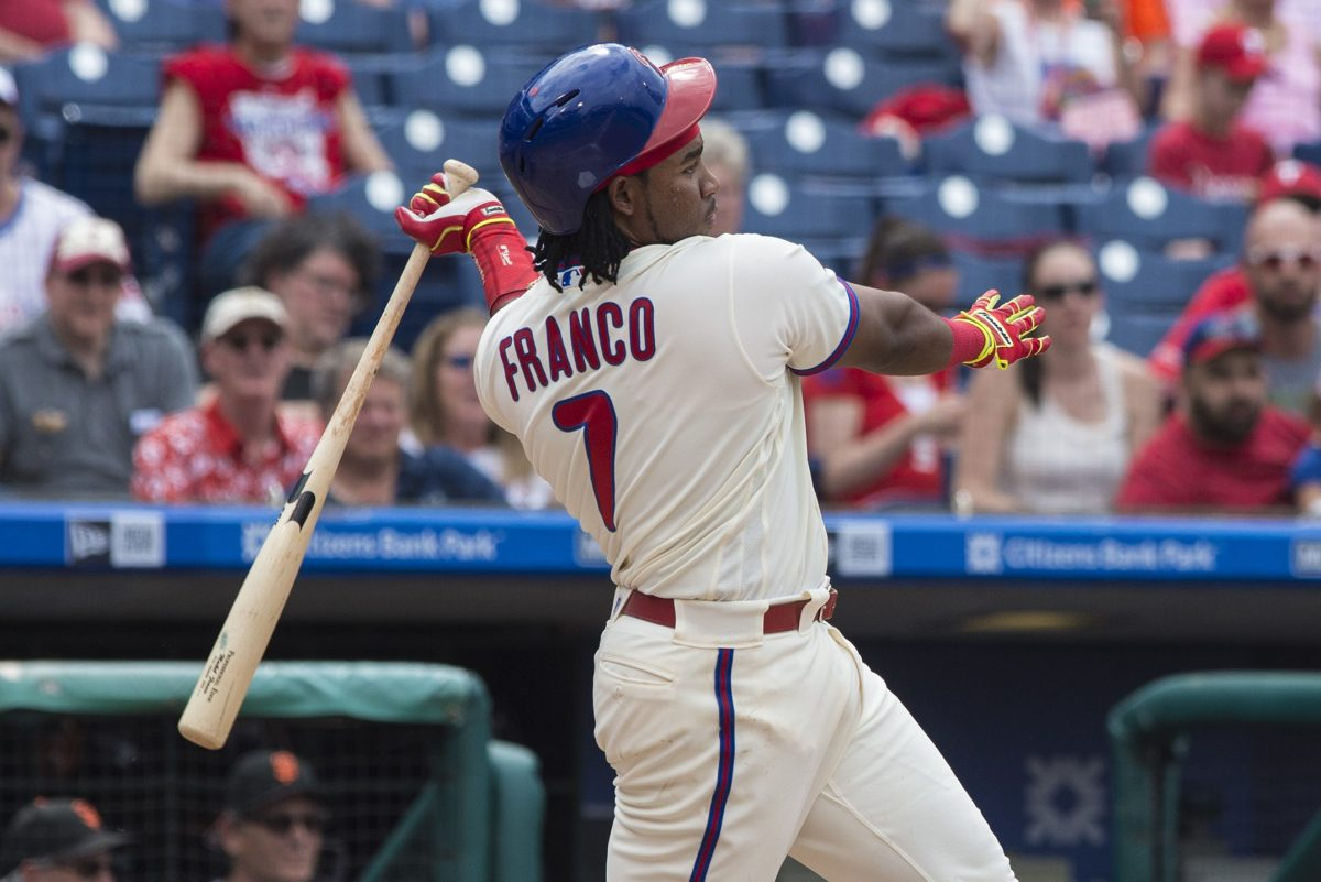 Philadelphia Phillies third baseman Maikel Franco will make $2.95 million in 2018, according to a source.