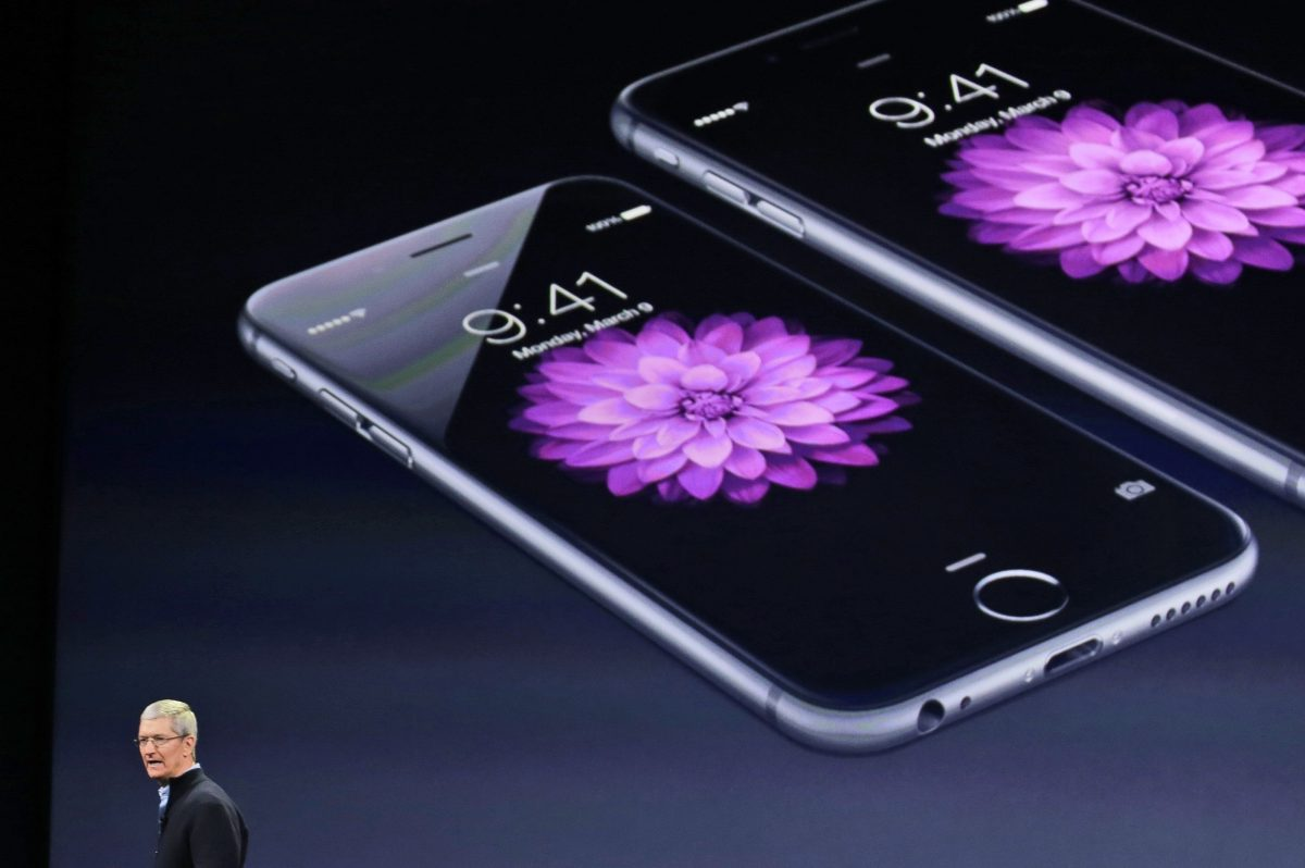 Apple CEO Tim Cook talks about the iPhone 6 and iPhone 6 Plus.