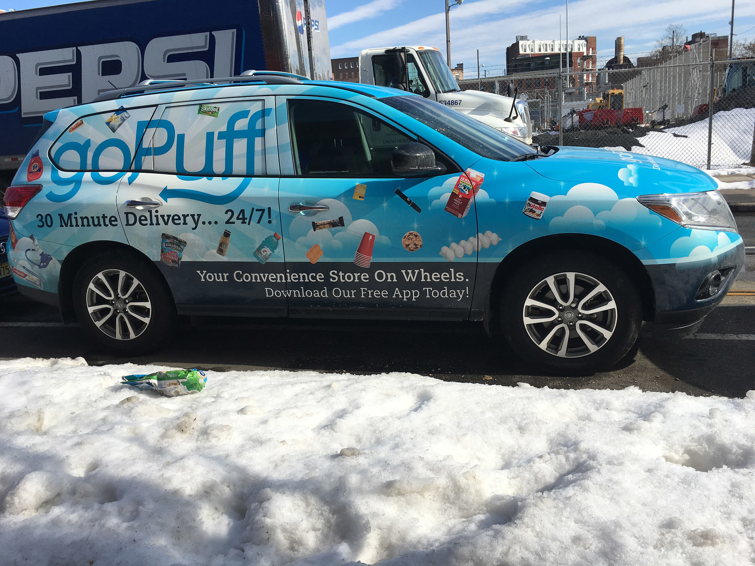 goPuff, the online app-driven delivery service started by two former Drexel students, is expanding its presence to Ardmore and Bethlehem this week.