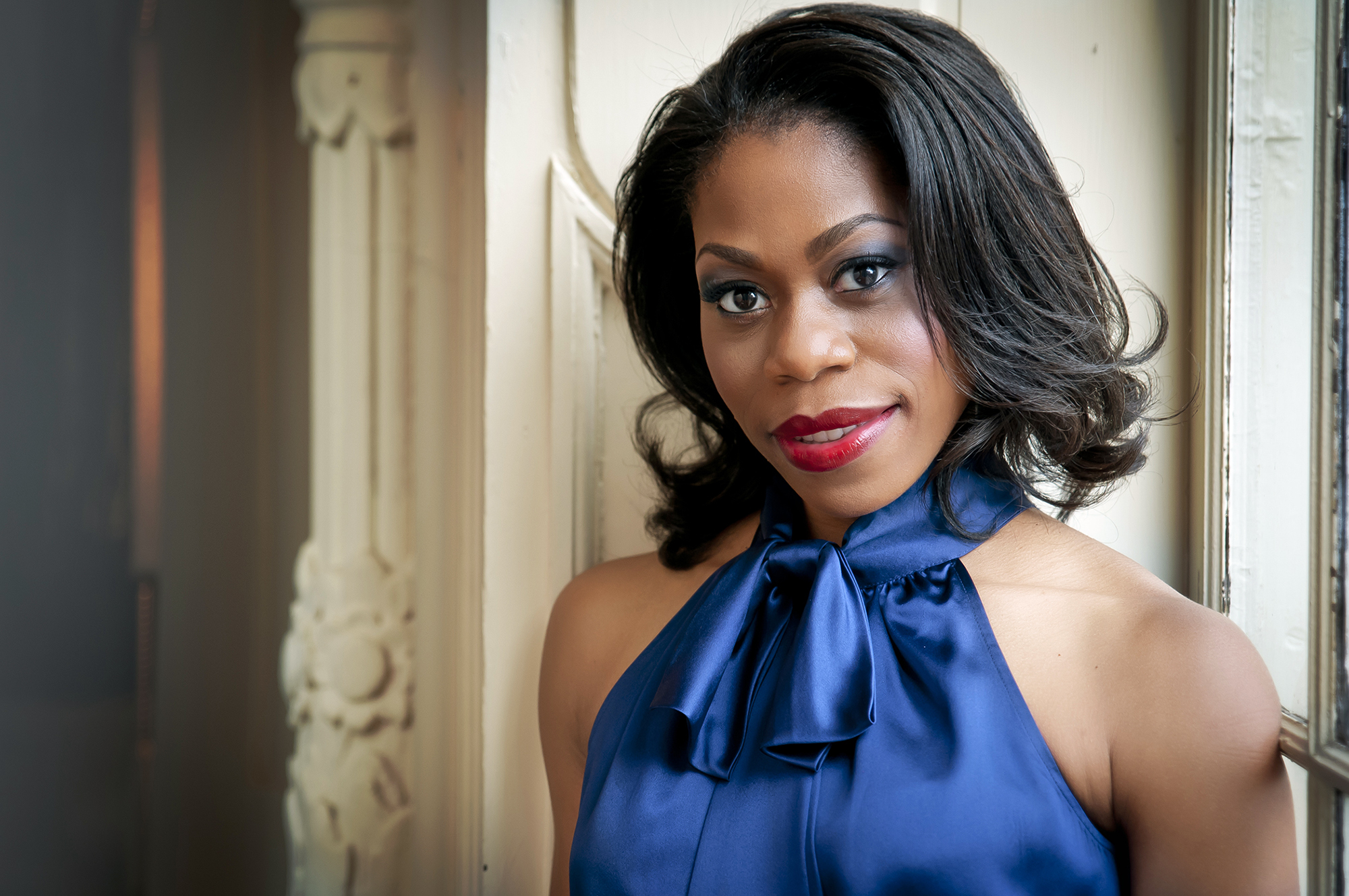 Chrystal E. Williams, an up-and-coming mezzo, performs at Thursday´s Morning Musicales.