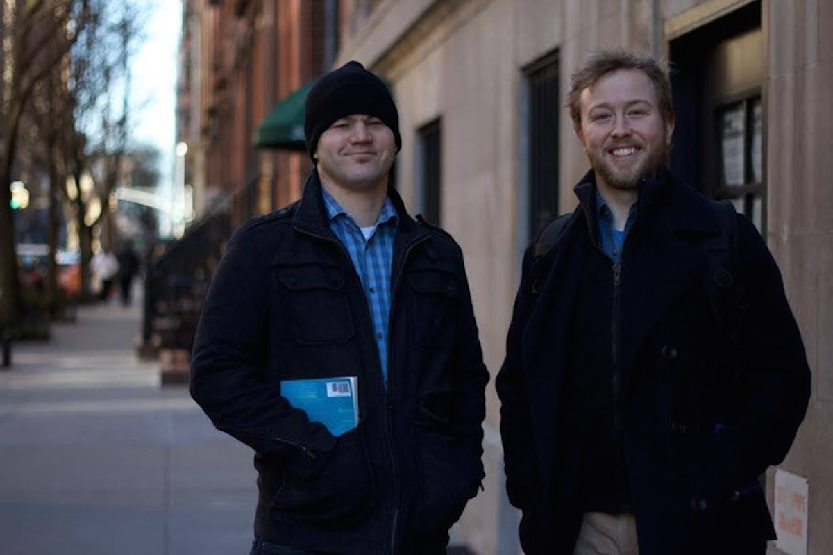 Corey Markum and Drew Sokol are on opposite ends of the spectrum with regard to religious beliefs. They host a podcast together.