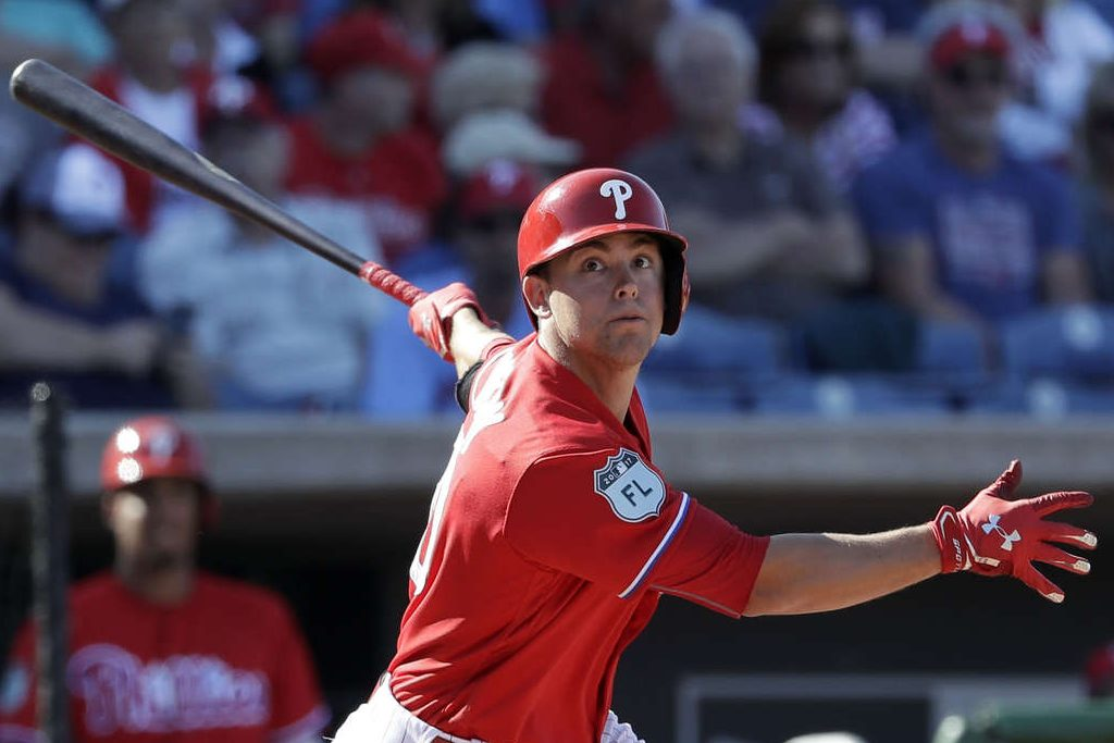 Scott Kingery, one of the Phillies' top prospects, could have another brief taste of big-league spring training.