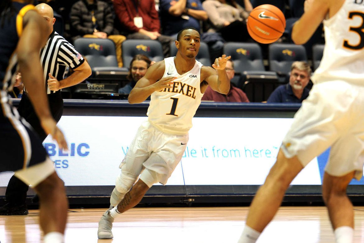 Kurk Lee scored 25 points for Drexel in the Dragons' last game.