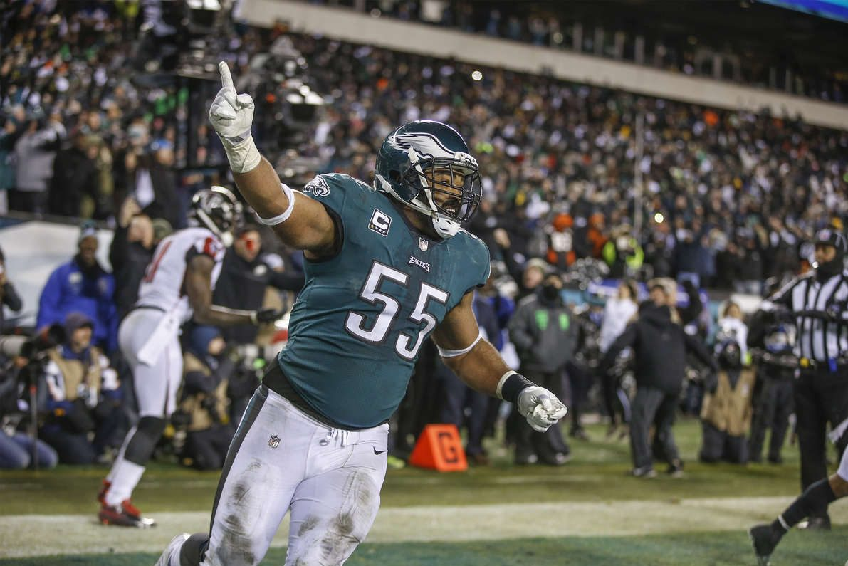 Brandon Graham is soaking up the spotlight, for NFC championship week.