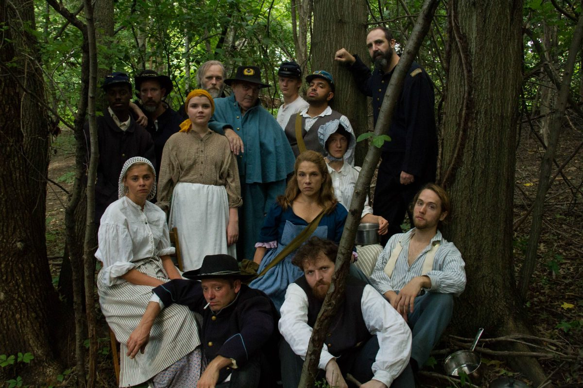"Cast of ""The Lydie Breeze Trilogy,"" Jan. 31-May 6 at EgoPo Classic Theatre."