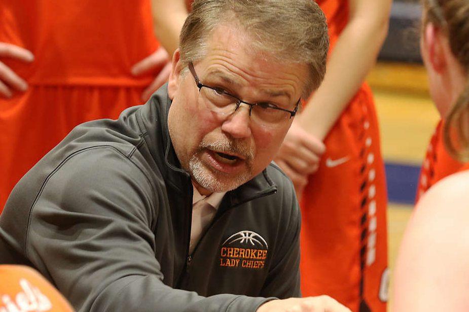 Cherokee coach Ron Powell