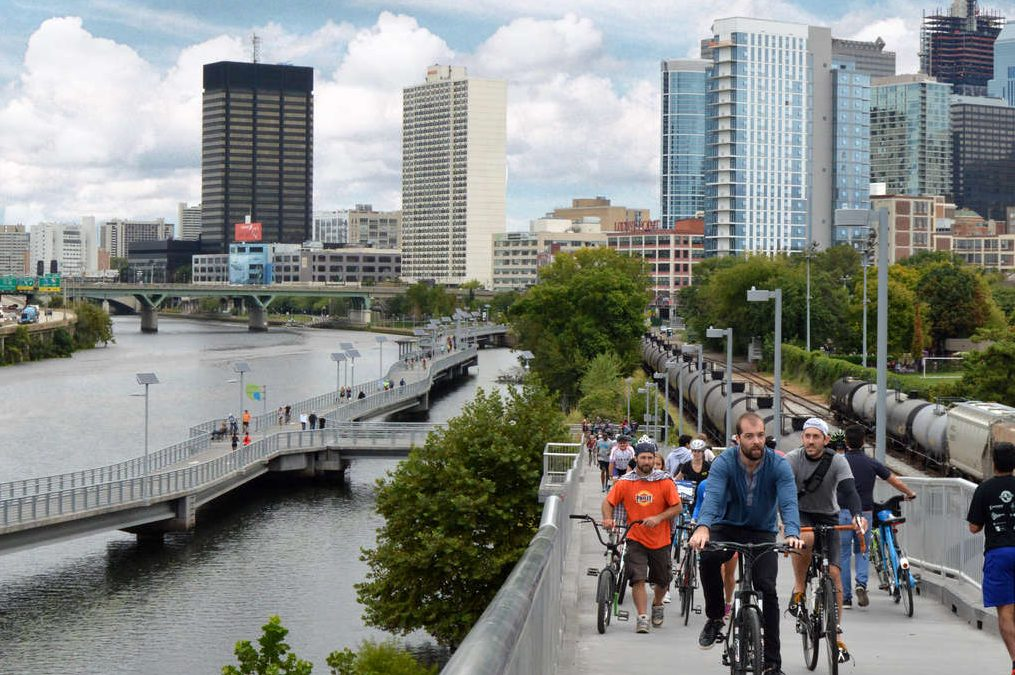 The Schuylkill River Trail is one the Philadelphia amenities that would help attract Amazon HQ2 to the city.