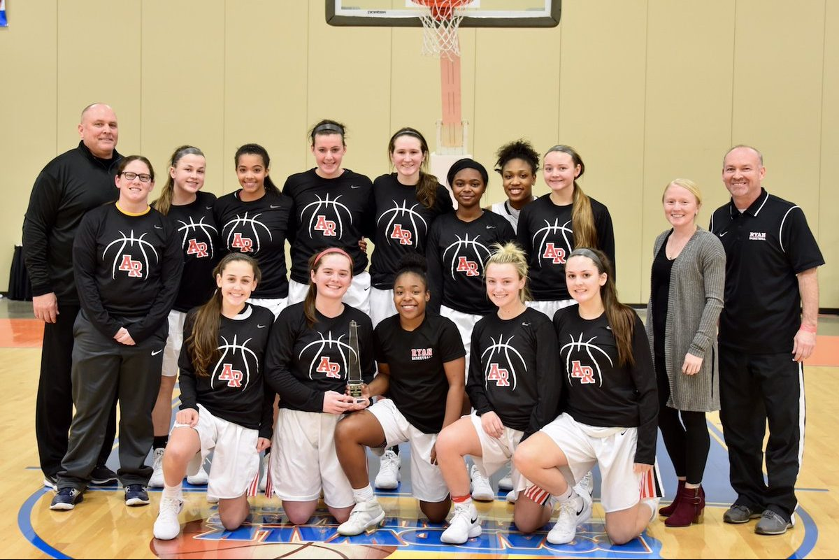The Archbishop Ryan girls' basketball team set a school record for consecutive wins on Thursday.