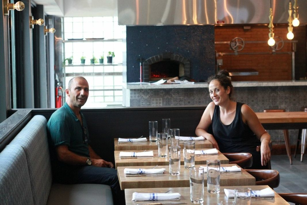 Konstantinos Pitsillides and Caroline Christian at their Kanella South, 757 S. Front St.