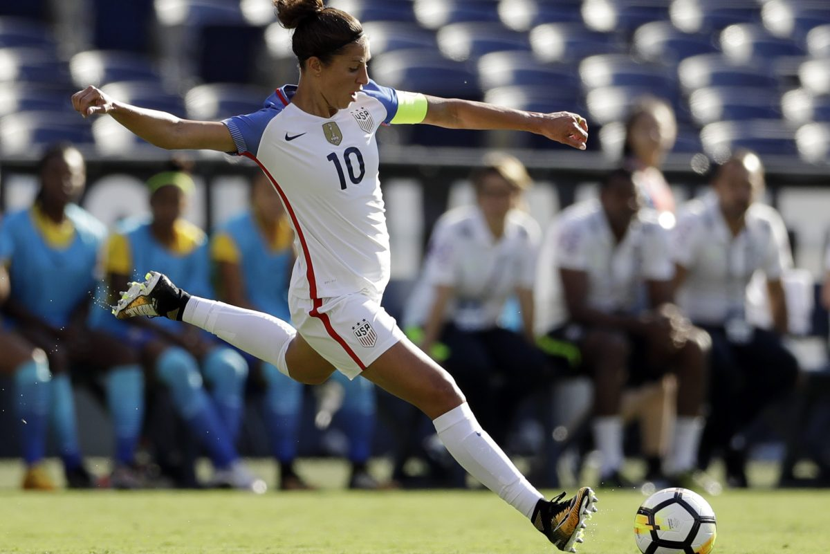 Delran native and U.S. women's national soccer team captain Carli Lloyd is headed to New Jersey's Sky Blue FC, where she will likely finish her career.
