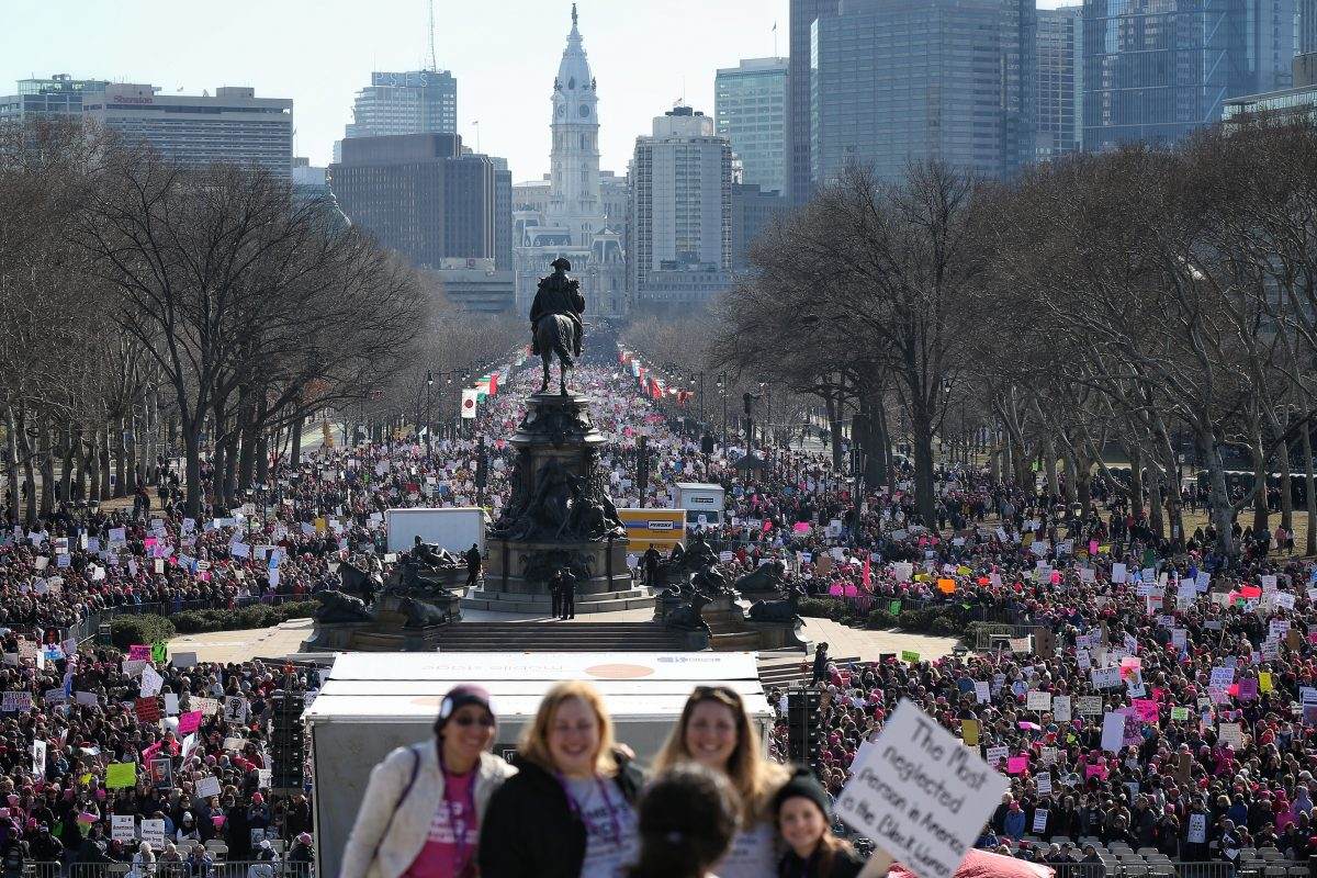 Women S March On Philadelphia Thousands Protest For The