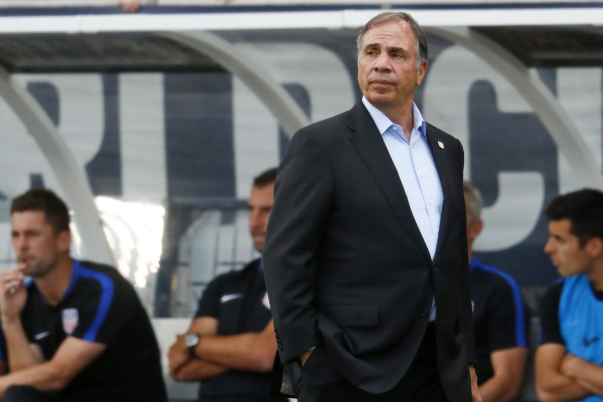 Former United States men's national soccer team head coach Bruce Arena.