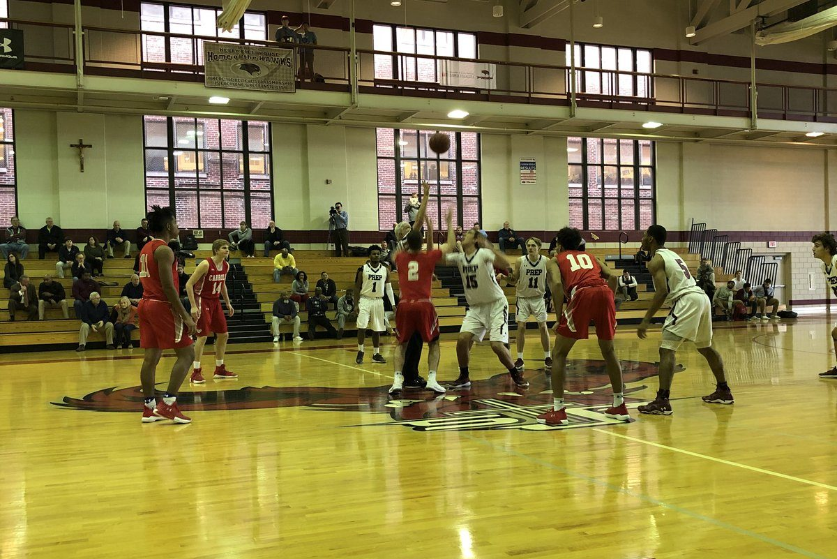The Archbishop Carroll boys' basketball team beat St. Joseph's Prep, 70-59, on Monday.
