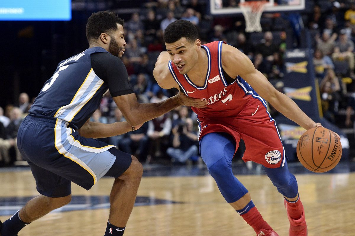 Timothe Luwawu-Cabarrot went 6-for-8 from three and scored a season-high 20 points in the Sixers' 105-101 loss to the Grizzlies Monday night in Memphis
