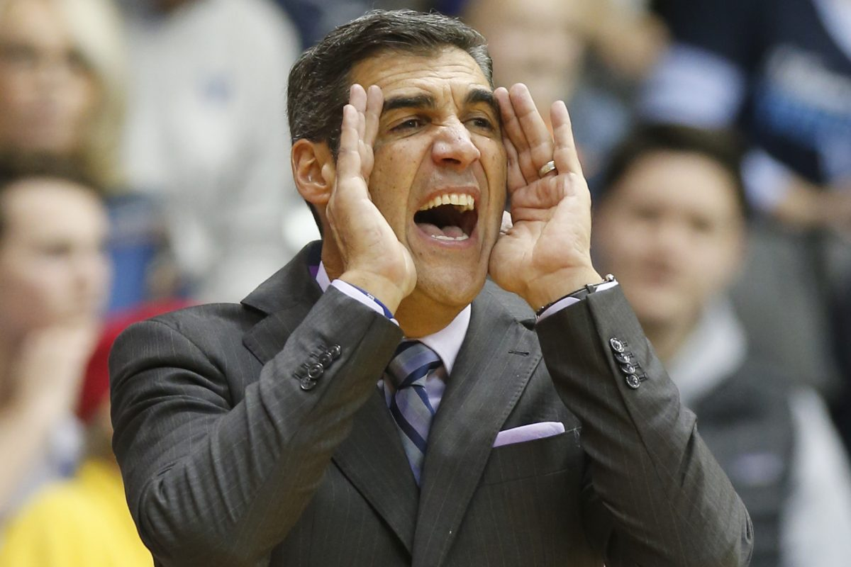 "Wildcats coach Jay Wright calls Villanova-UConn a ""great tradition."""
