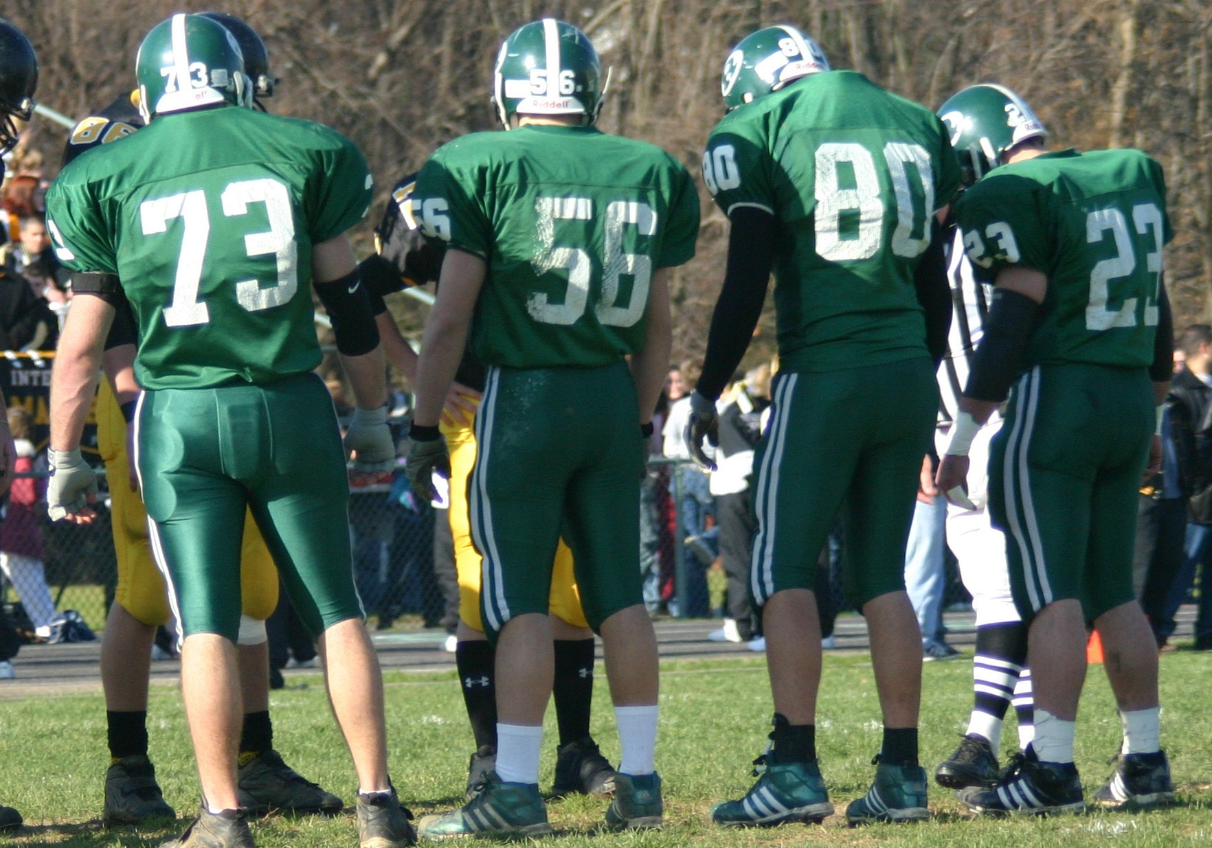 Nick Colleluri, #56, was an all-state nose guard for Ridley High School.