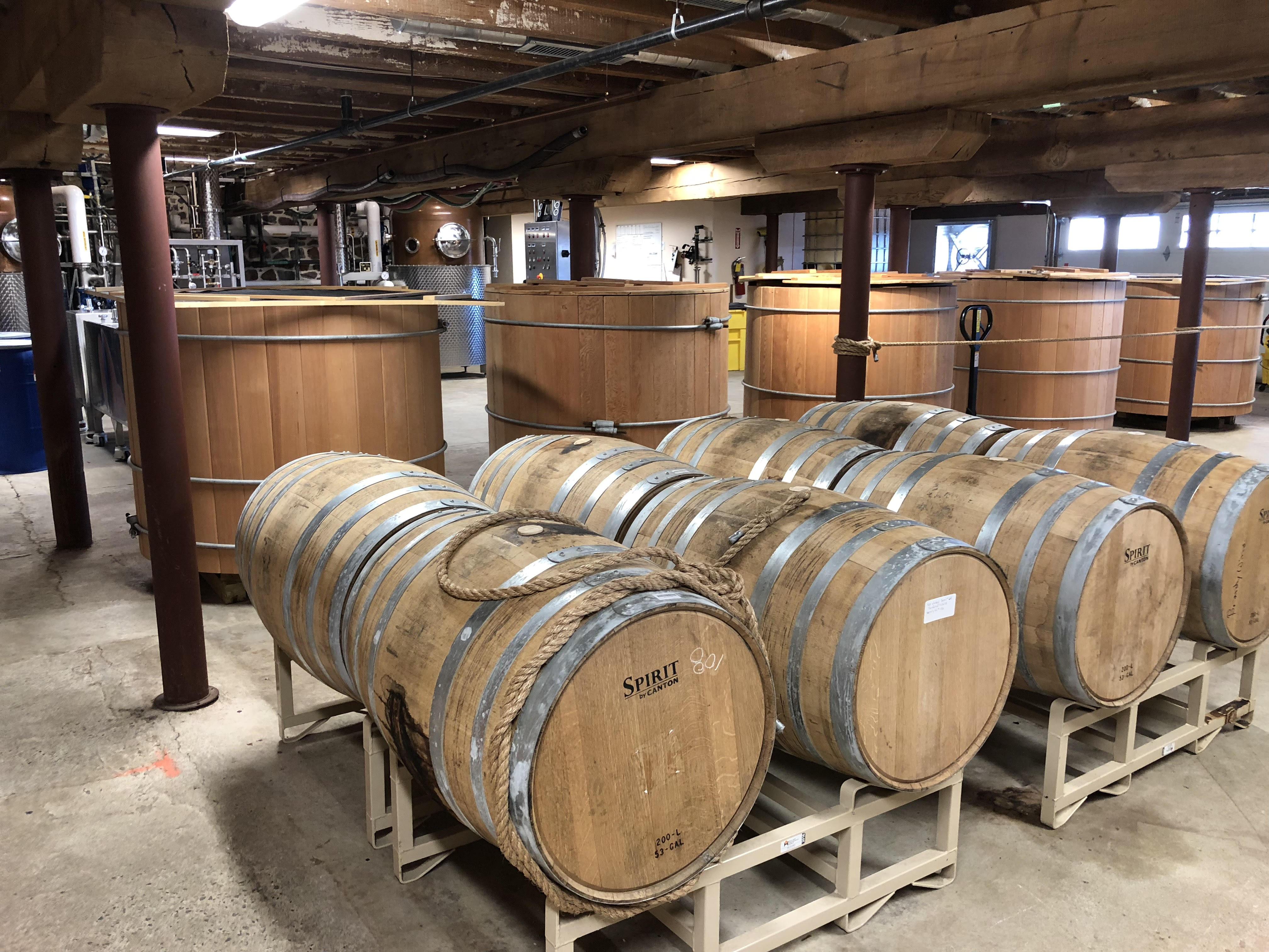 Distillery at Brandywine Branch Distillers, Elverson, Pa.
