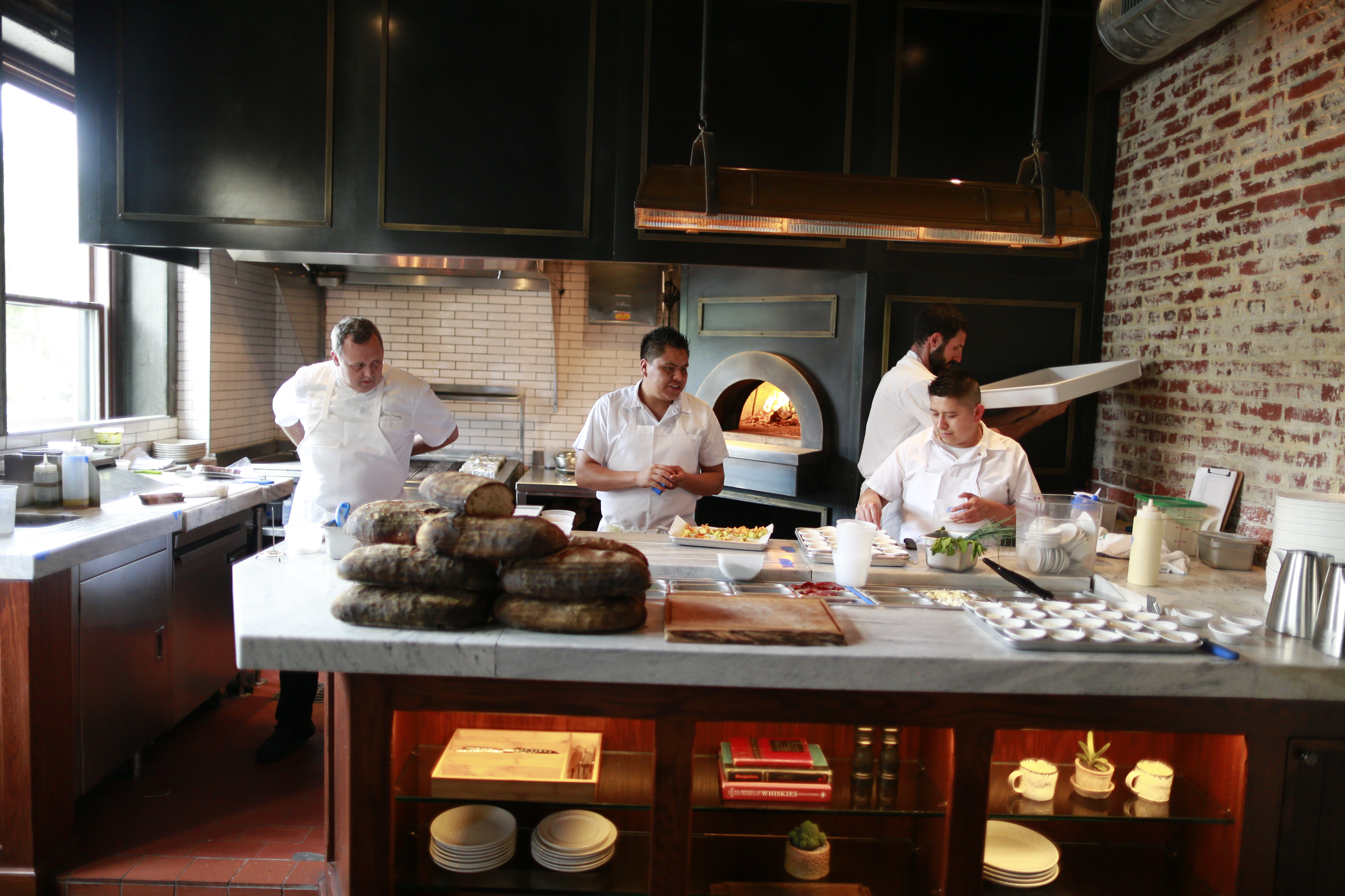 The kitchen at Wm. Mulherin´s Sons.