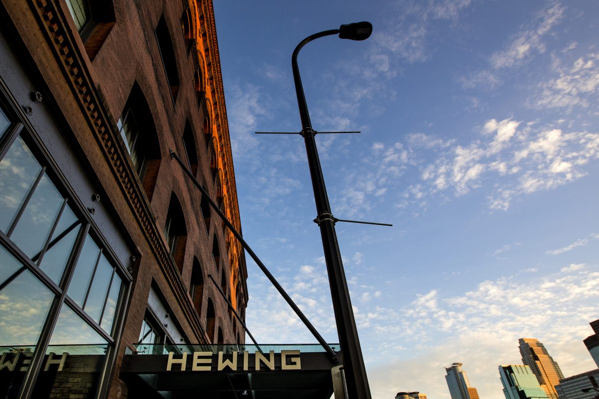 "The Hewing Hotel in Minneapolis is sold out Thursday through Monday. ""We were almost completely sold out before the hotel officially opened,"" said Pablo Molinari, the hotel's general manager."