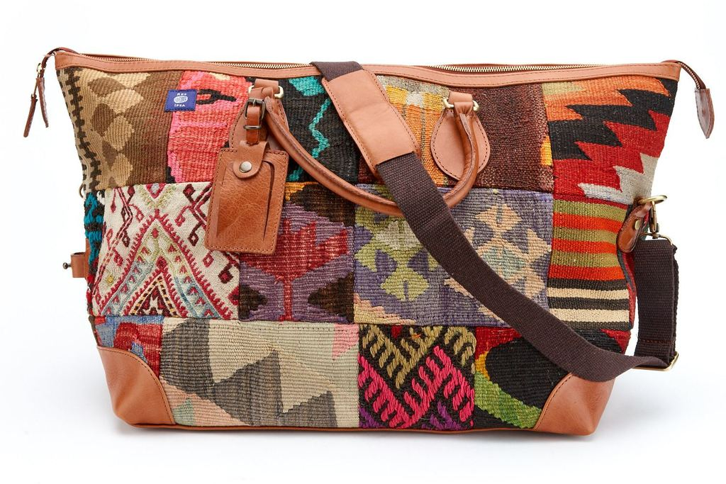 The Kilim Weekender Bag #1 from Res Ipsa.