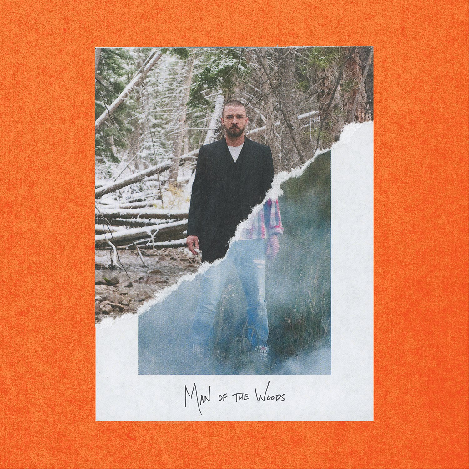 The album cover for Justin Timberlake´s ´Man Of The Woods.´
