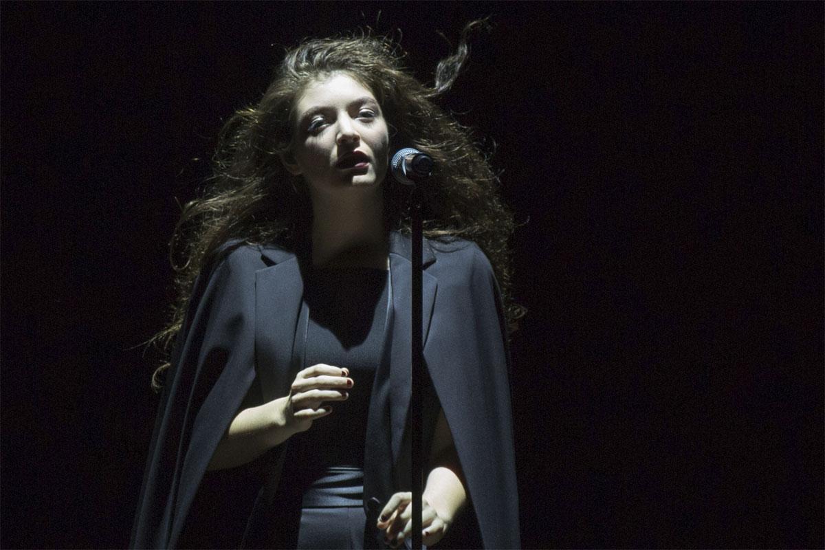Singer Lorde performs on Sept. 5, 2014 at the Mann Center in Philadelphia, Pa.