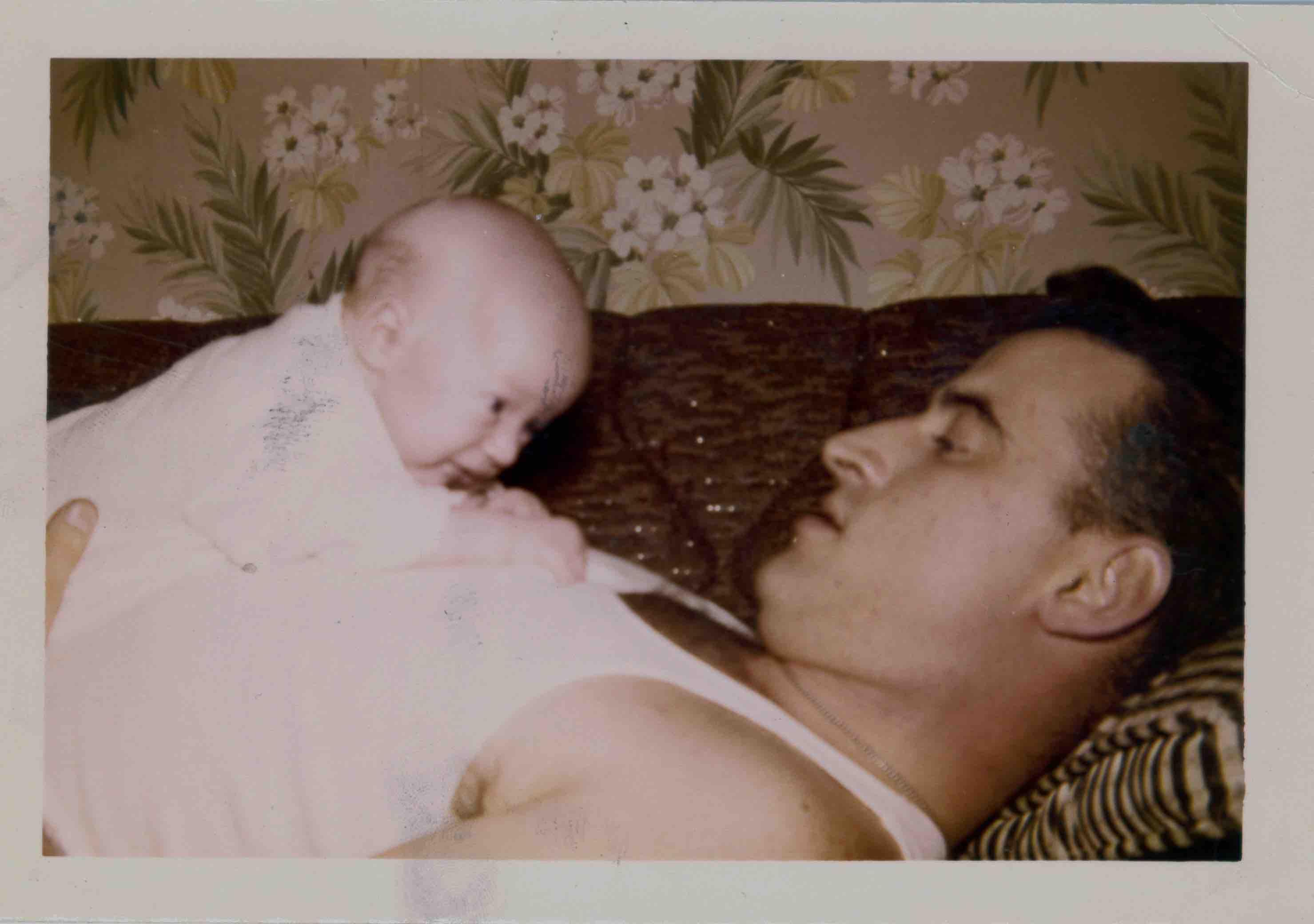 Philadelphia´s Mayor Jim Kenney, with his father, James.