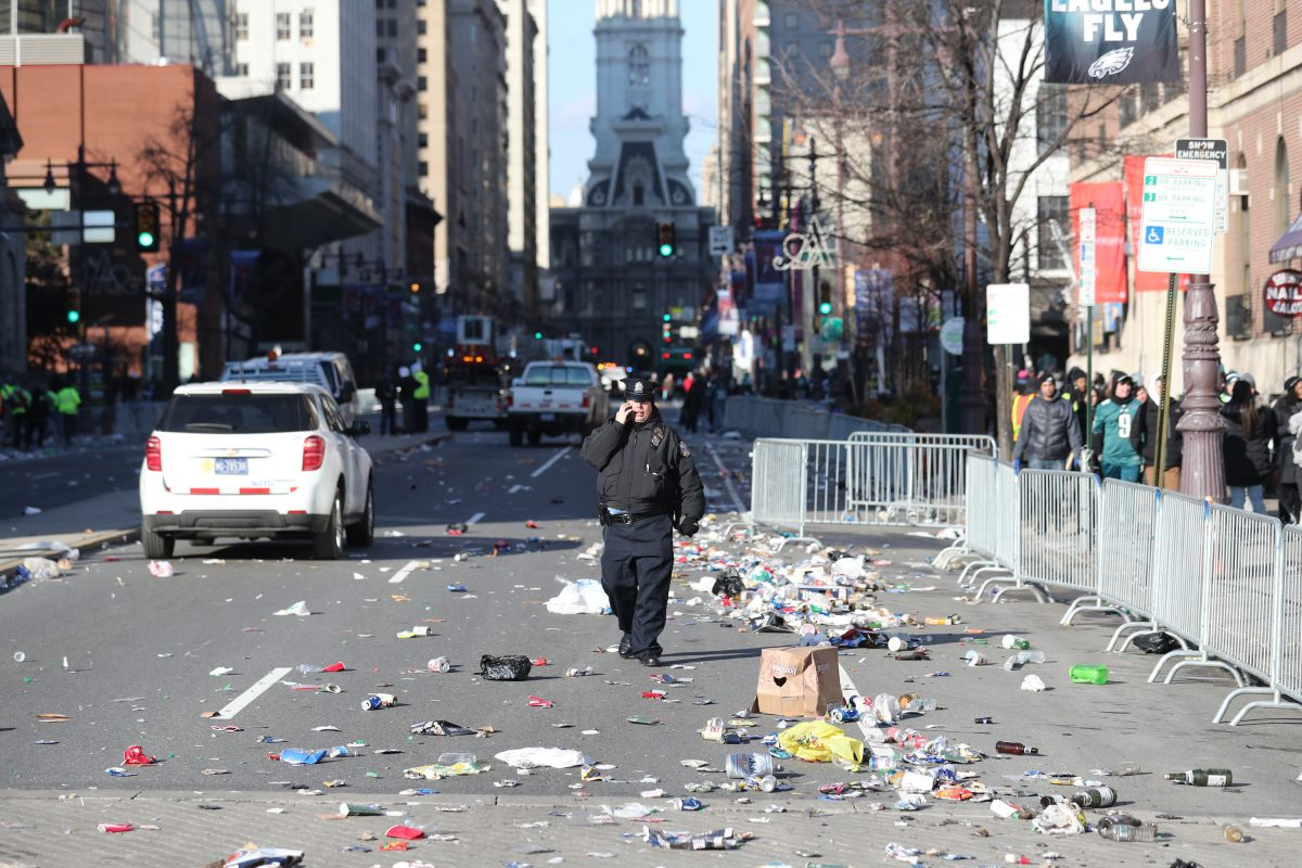 how will philadelphia clean up after 2 million messy