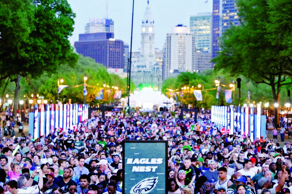 Verizon, AT&T and other companies have boosted wireless networks on the Benjamin Franklin Parkway for events such as the 2017 NFL draft. But the Eagles Parade crowds could be unprecedented and spread along a five-mile parade route.