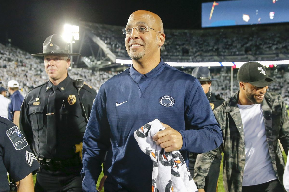 Penn State coach James Franklin has signed another recruit.