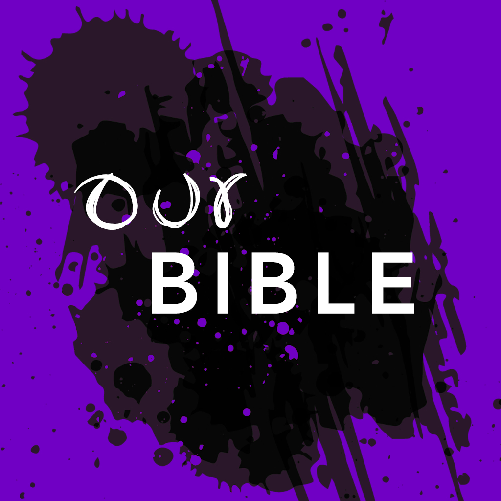 "Home Page of the ""Our Bible"" app"