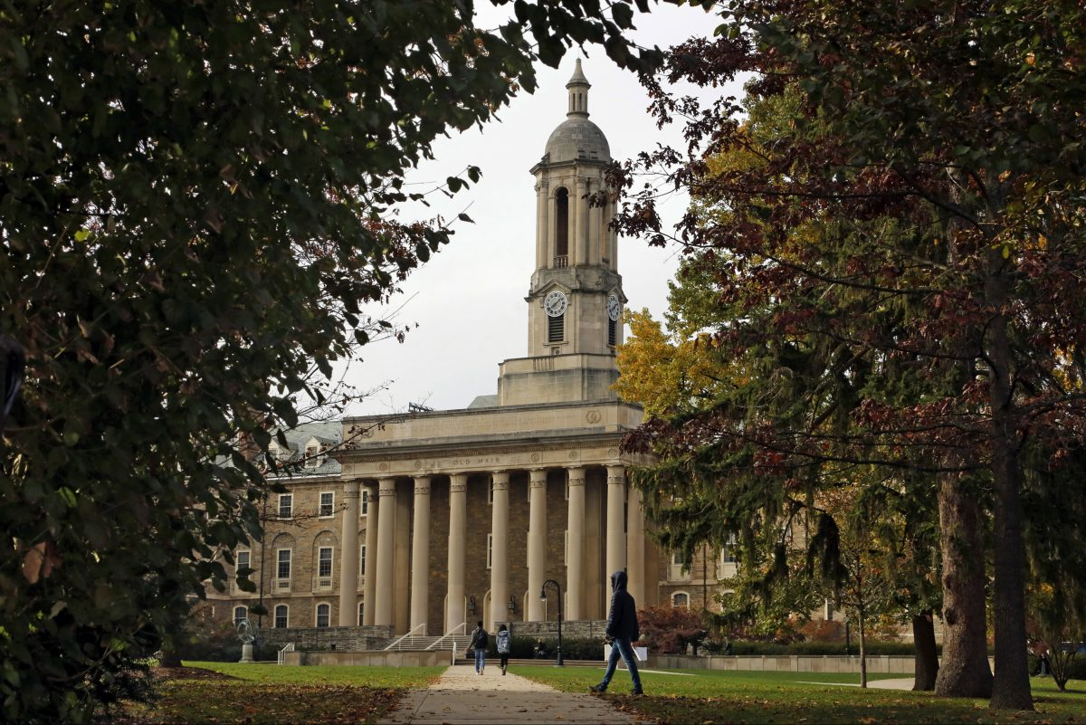 Old Main on the Penn State University main campus in State College, Pa.
