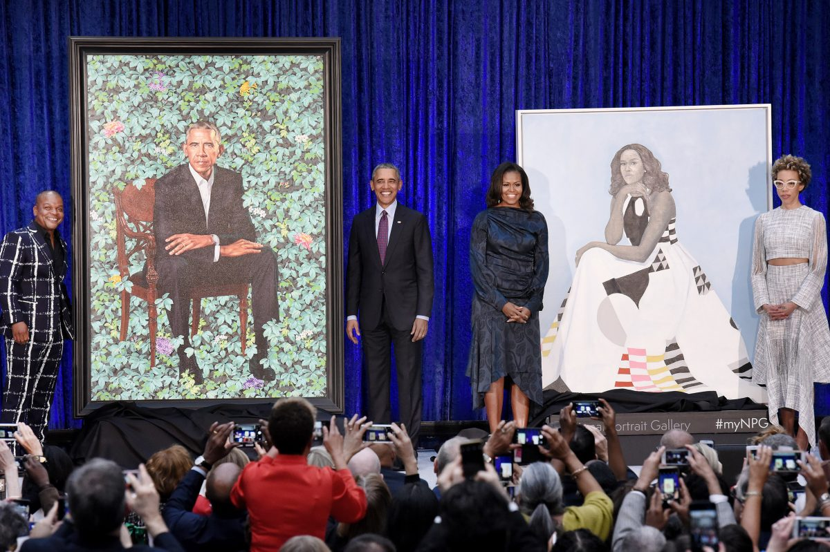 Why what you think about the Obama's National Portrait Gallery paintings doesn't matter | Elizabeth Wellington - Philly